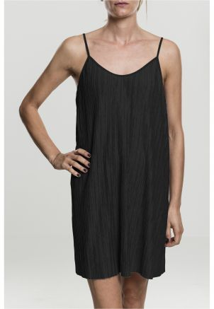 Ladies Jersey Pleated Slip Dress