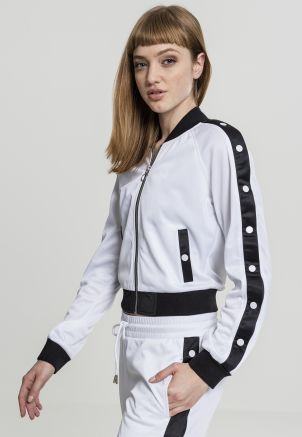Ladies Button Up Track Jacket