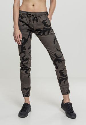 Ladies Camo Jogging Pants