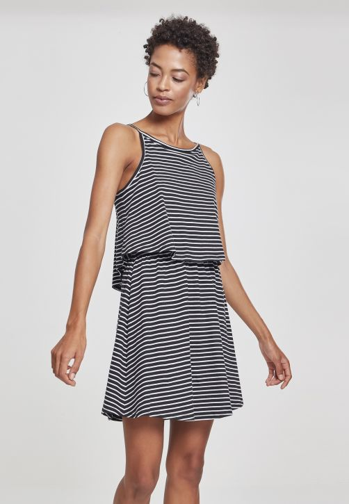 Ladies 2-Layer Spaghetti Dress