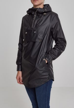 Ladies High Neck Pull Over Jacket