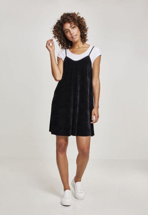 Ladies Velvet Slip Dress