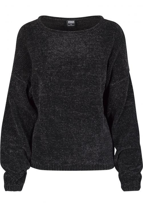 Ladies Oversize Chenille Sweater