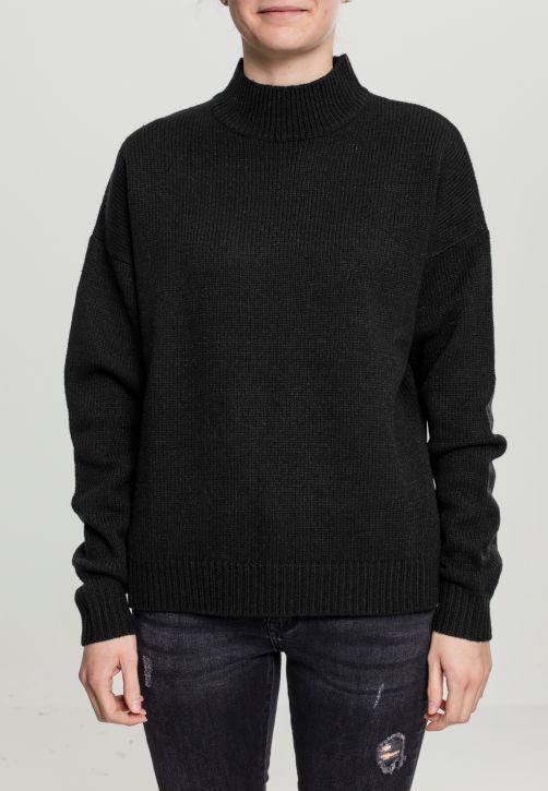 Ladies Oversize Turtleneck Sweater