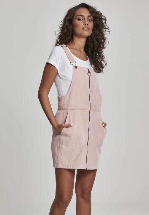 Ladies Corduroy Dungaree Dress