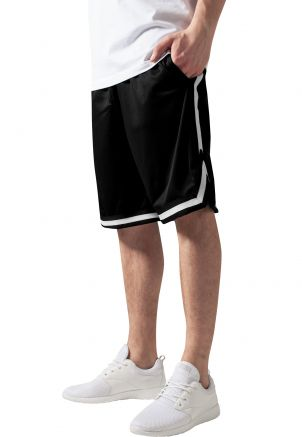 Stripes Mesh Shorts