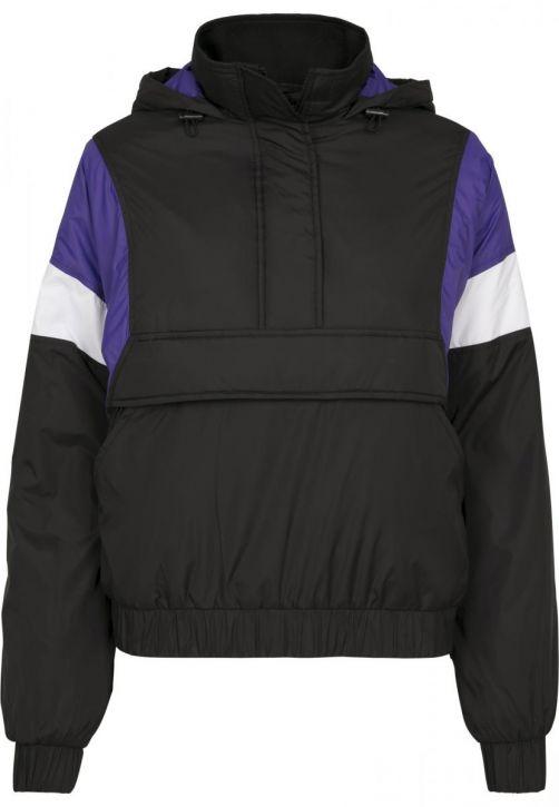 Ladies 3-Tone Padded Pull Over Jacket