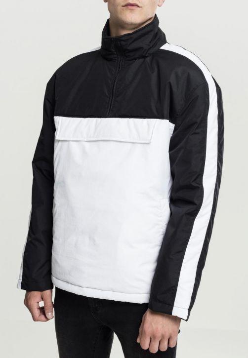2-Tone Padded Pull Over Jacket
