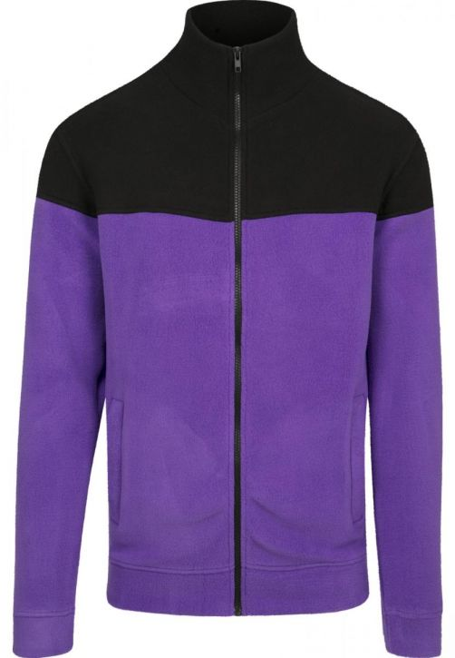 Oversize 2-Tone Polar Fleece Jacket