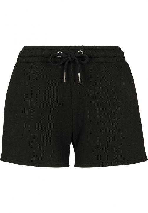 Ladies Heavy Pique Hot Pants