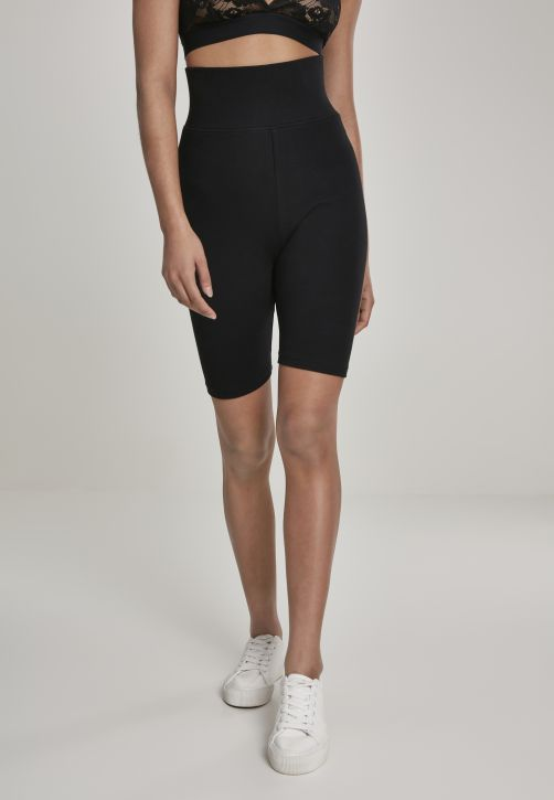 Ladies High Waist Cycle Shorts 2-Pack