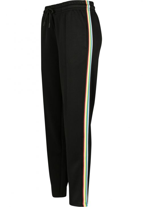 Ladies Multicolor Side Taped Track Pants