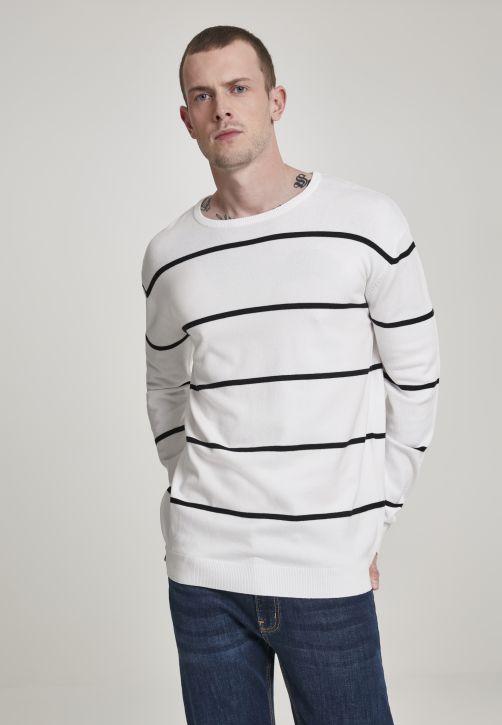 Line Striped Sweater