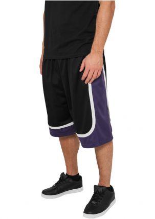 Tricolor Mesh Shorts