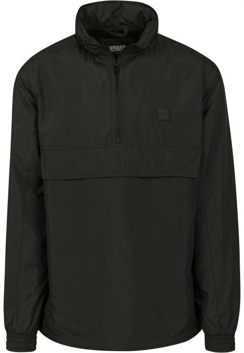 Hidden Hood Pull Over Jacket