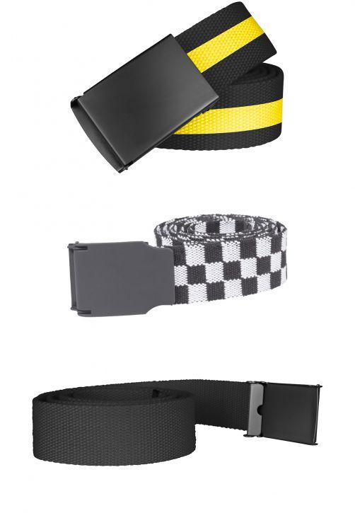 Belts Trio