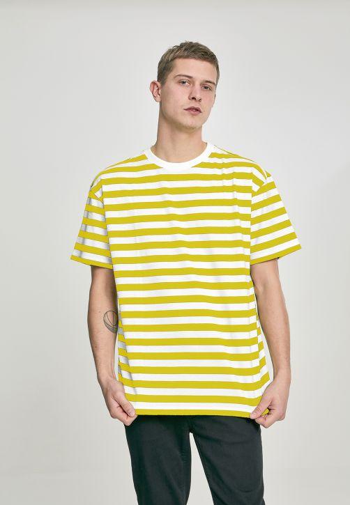 Oversized Yarn Dyed Bold Stripe Tee