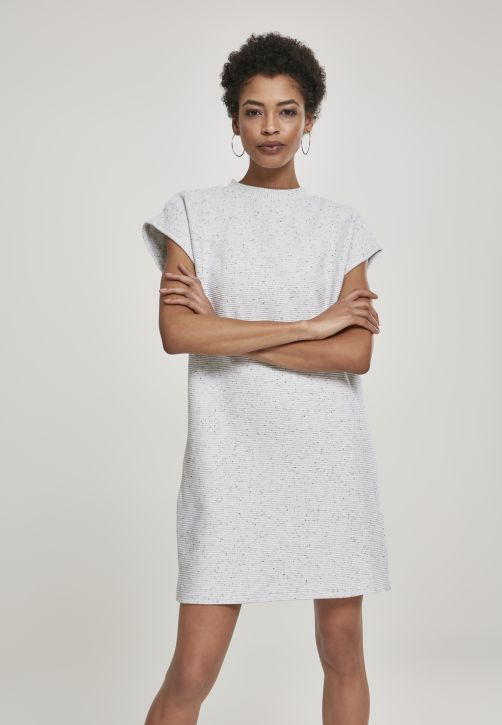 Ladies Naps Terry Extended Shoulder Dress