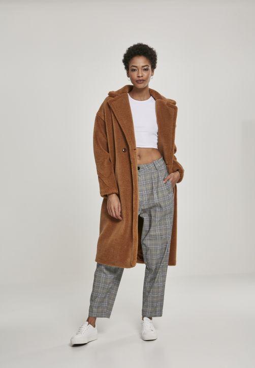 Ladies Oversized Teddy Coat