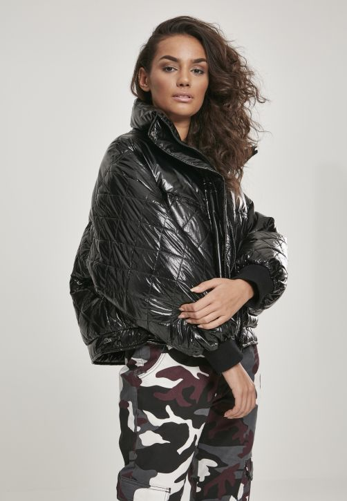 Ladies Vanish Oversized Diamond Quilt Jacket