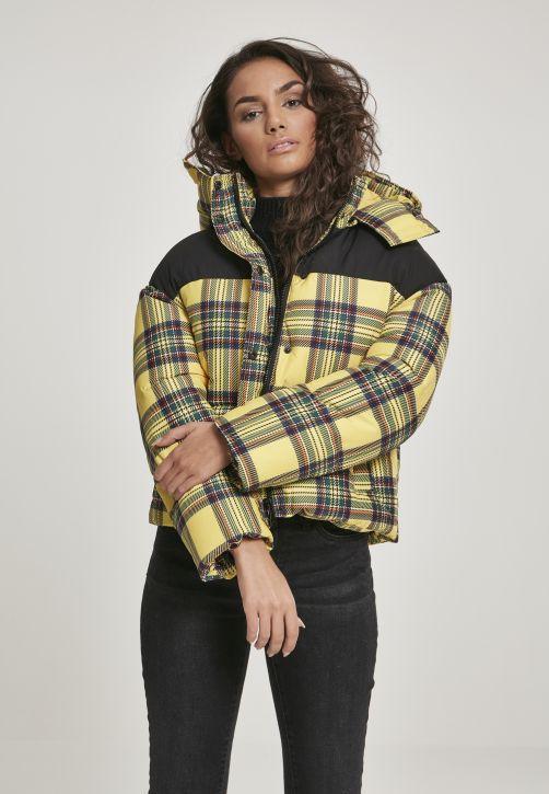 Ladies AOP 2-Tone Puffer Jacket
