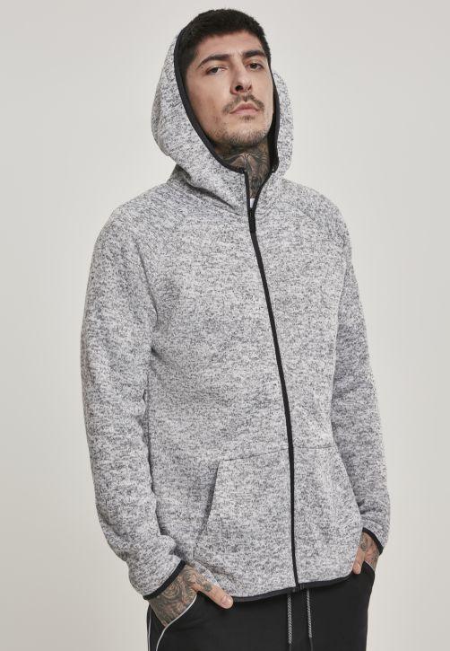 Knit Fleece Zip Hoody