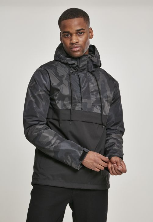 Camo Mix Pull Over Jacket
