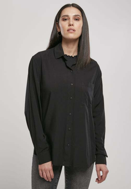 Ladies Viscose Oversize Shirt