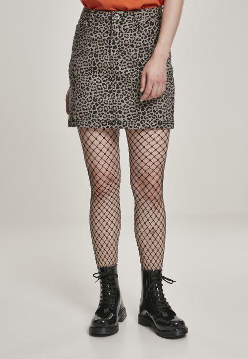 Ladies AOP Twill Mini Skirt