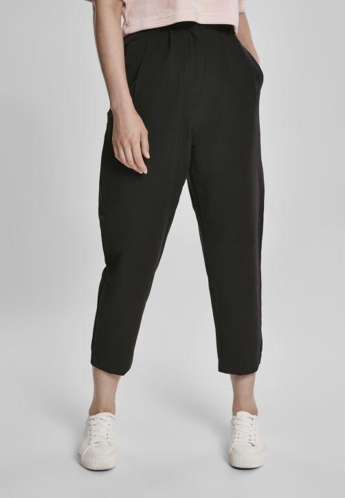 Ladies High Waist Cropped Pants
