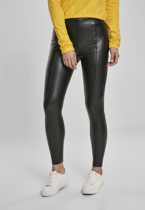Ladies Faux Leather Skinny Pants