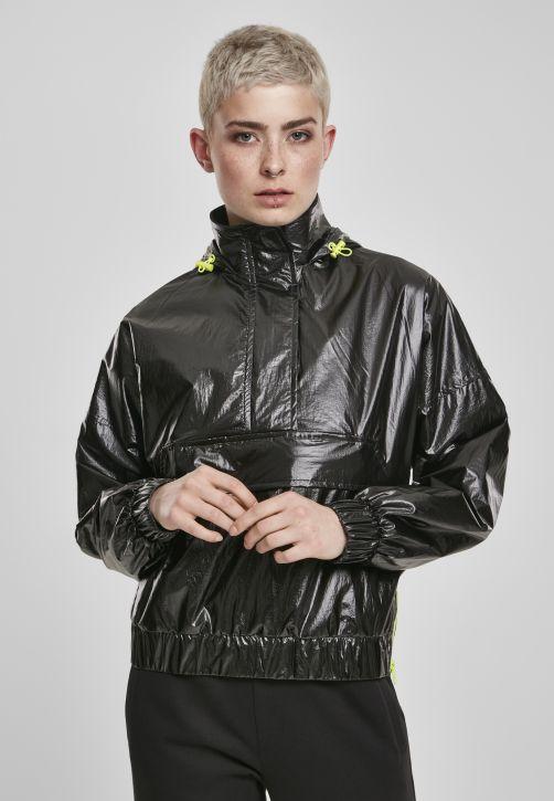 Ladies Vanish Crinkle Pull Over Jacket