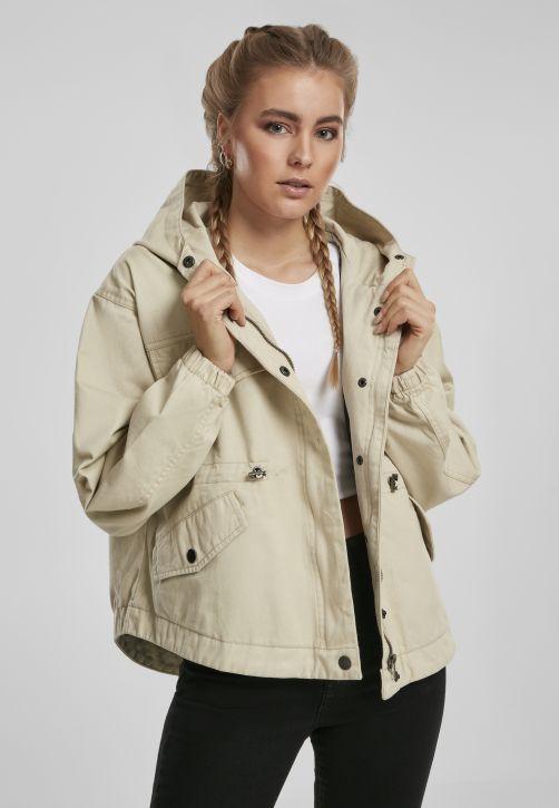 Ladies Oversized Parka Jacket