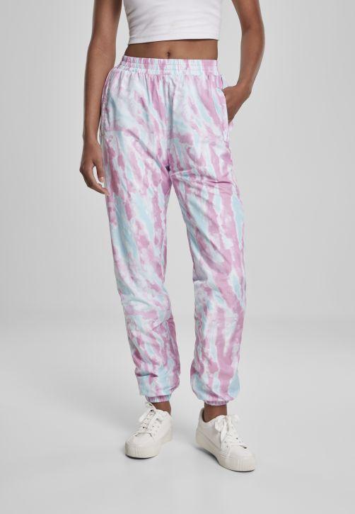 Ladies Tie Dye Track Pants