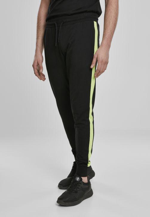 Neon Striped Sweatpants