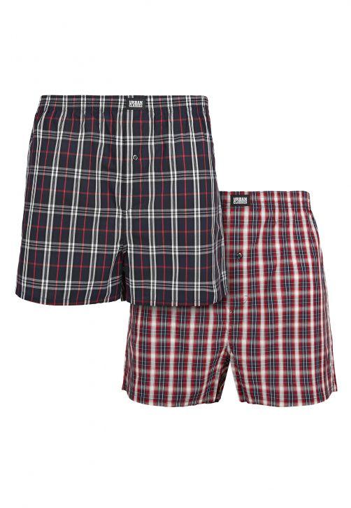 Woven Plaid Boxer Shorts 2-Pack