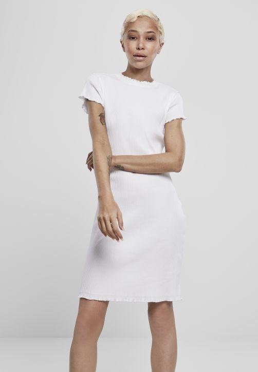 Ladies Rib Tee Dress