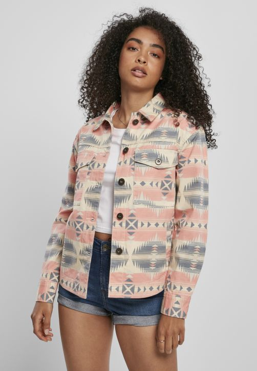 Ladies Inka Oversized Shirt Jacket