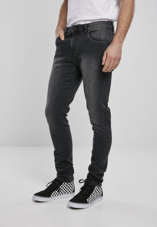 Slim Fit Zip Jeans