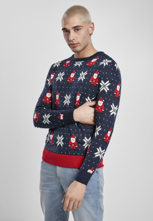Nicolaus And Snowflakes Sweater