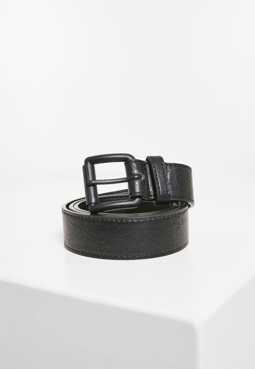 Marmorized PU Leather Belt