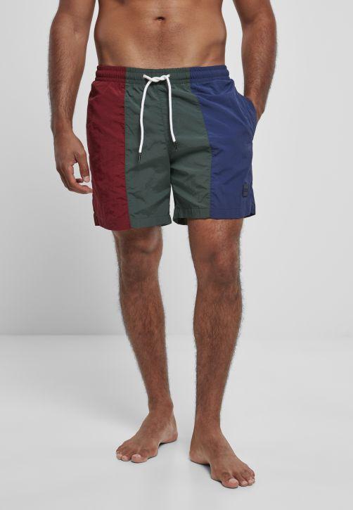 3-Tone Swim Shorts