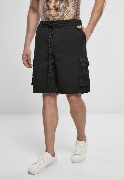 Drawstring Cargo Shorts
