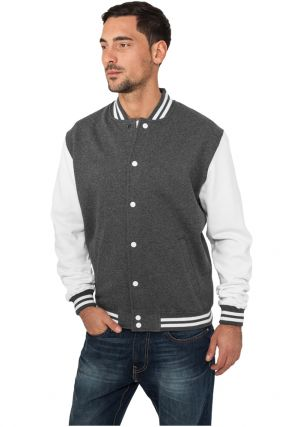 Melange College Sweatjacket