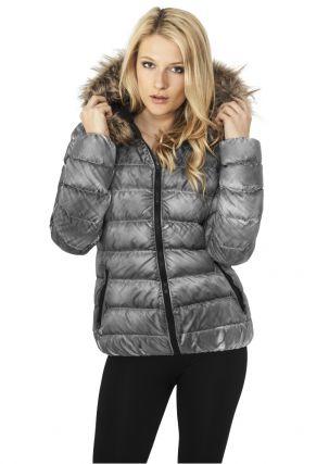 Ladies Spray Dye Winter Jacket