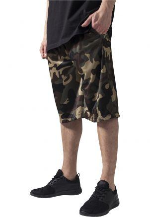Camo Bball Mesh Shorts