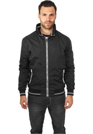 Contrast Nylon Jacket