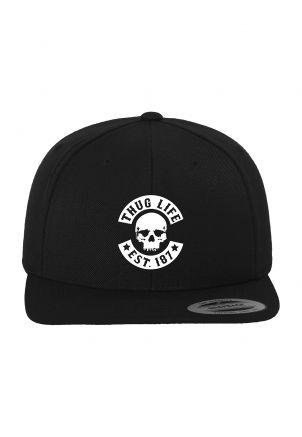 Thug Life Skull Snapback