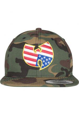 Wu-Wear American Camo Snapback