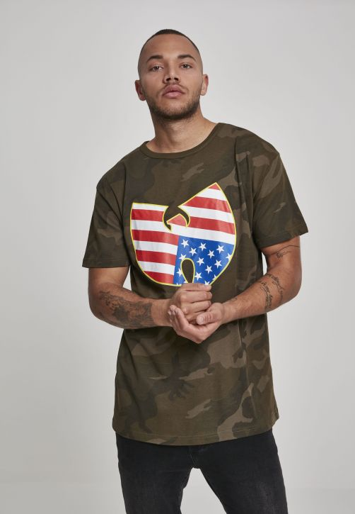 Wu-Wear American Camo Tee